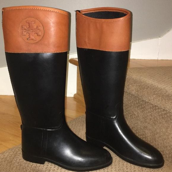 29c2986bd41b TORY BURCH Classic Rain Boots sz 7. M 5a4817d450687cb20e1740f1
